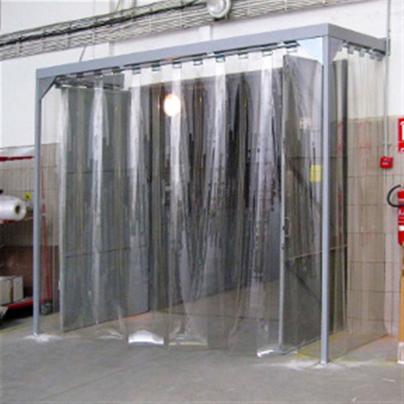 Protiprievanové vrátové clony priemyselné