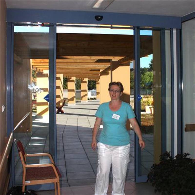 posuvné automatické dveře pro domov důchodců 2