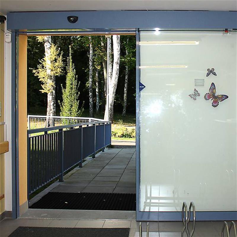 posuvné automatické dveře pro domov důchodců 3
