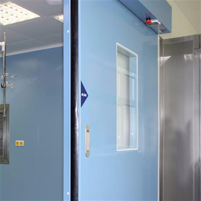 Automatické dveře v jednokřídlém provedení