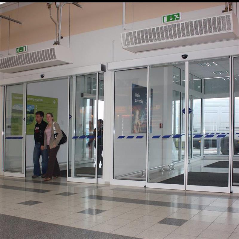 automatické dveře posuvné pro TESCO