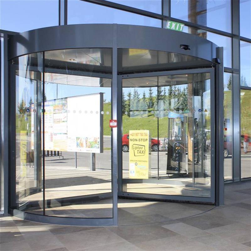 automatické karuselové dveře Tourniket