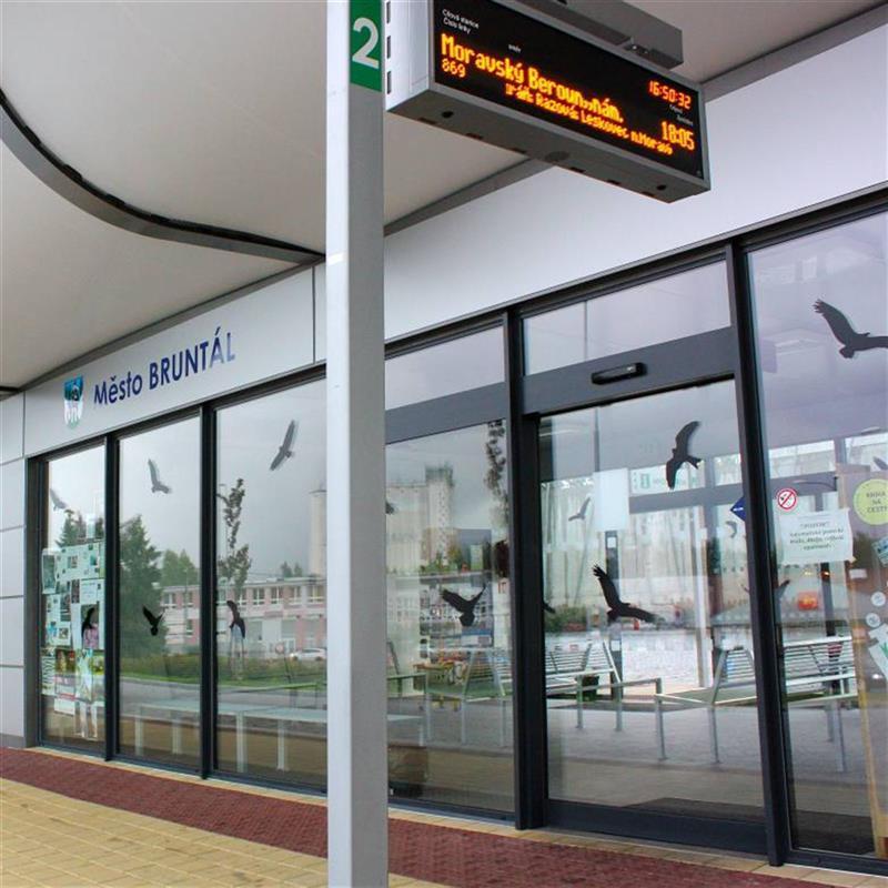 automatické prosklené dveře Spedos