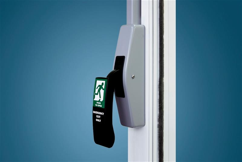 Dverový uzáver na automatické dvere