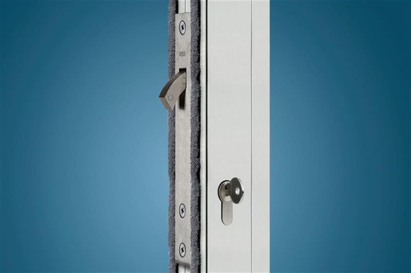 Elektrický zámok k automatickým dverám