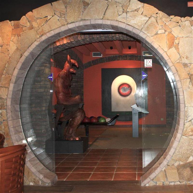 hotelový vstup pro hotel Partizán v Nízkých Tatrách 2