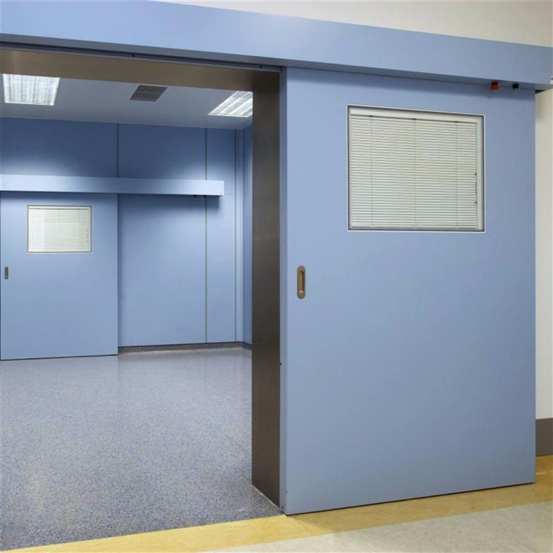 Jednokřídlé automatické dveře pro čisté prostory