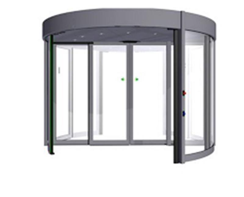 karuselové dvere Duotour konštrukcie