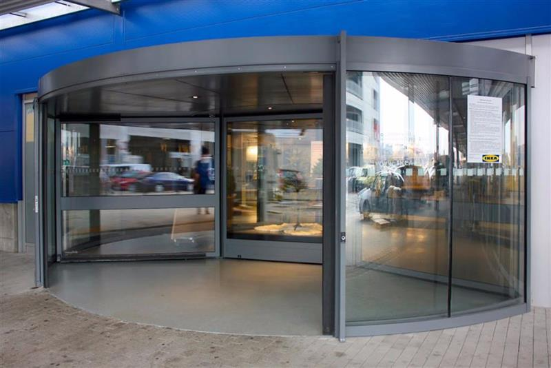 karuselové dvere Tournex