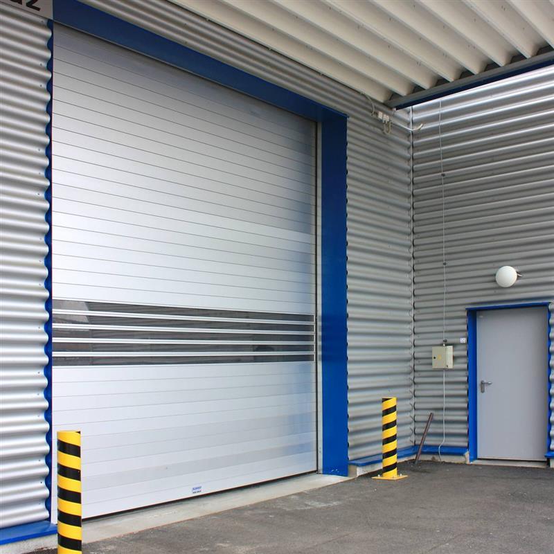 Průmyslové sekční garážové dveře