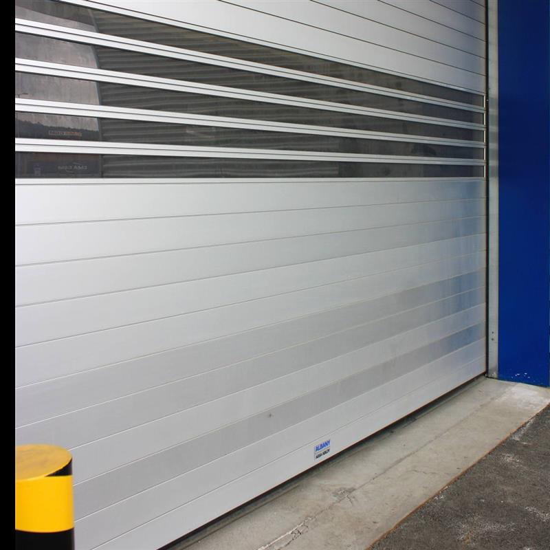 Průhledná garážová vrata SPEDOS