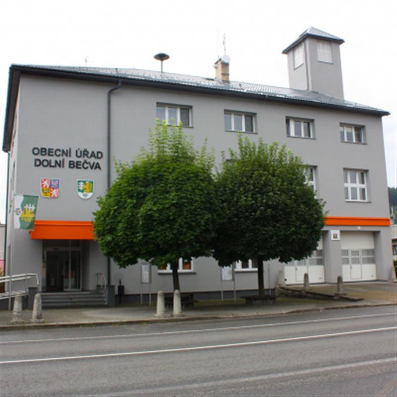 Budova obecní úřad Dolní Bečva