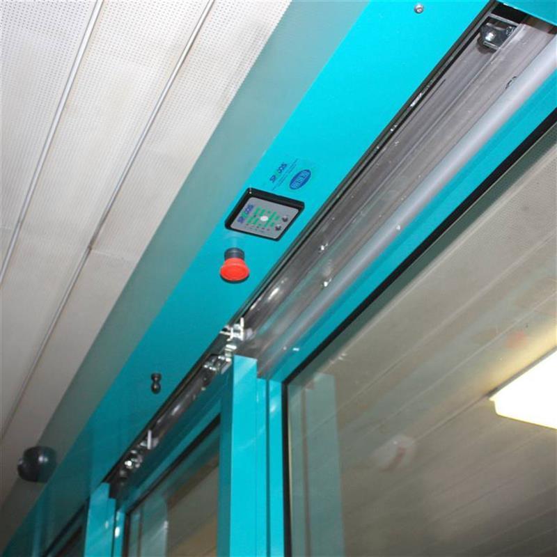 oboustranné teleskopické automatické dveře 2