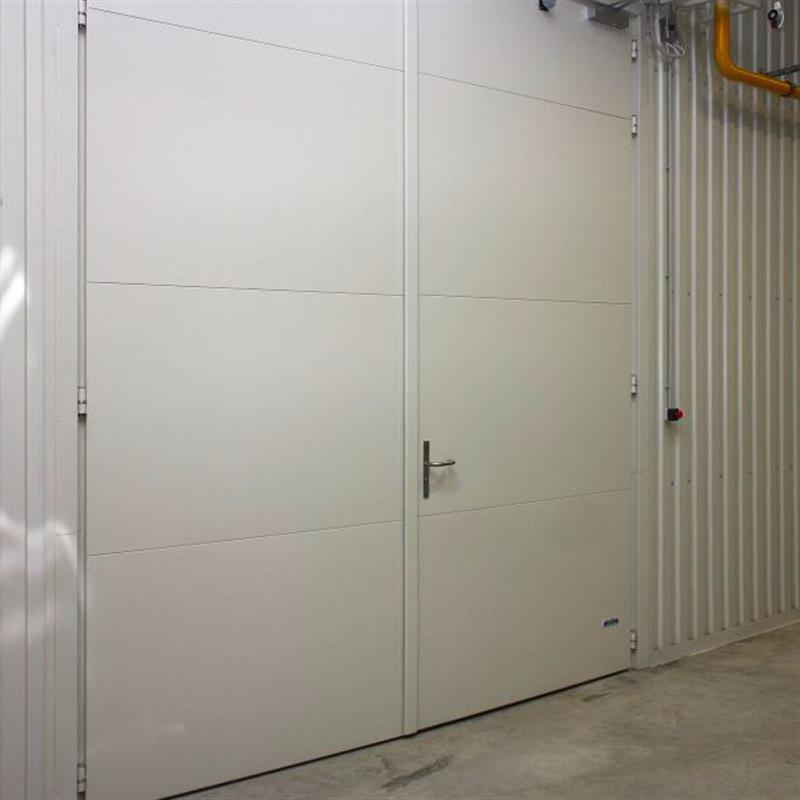 Protipožární vrata otevíravá ocelová