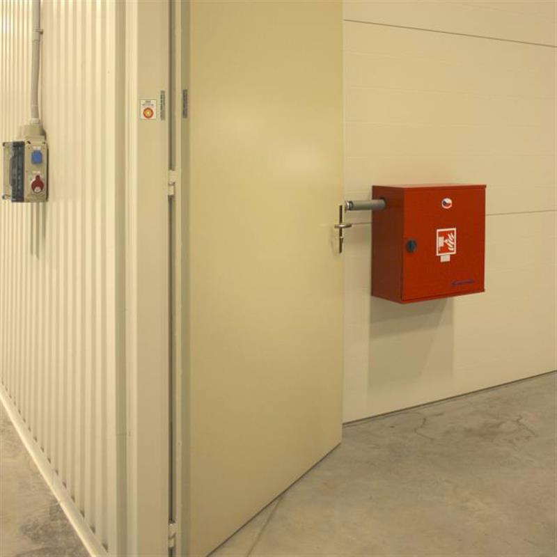 Protipožární ocelová vrata pro průmyslový areál