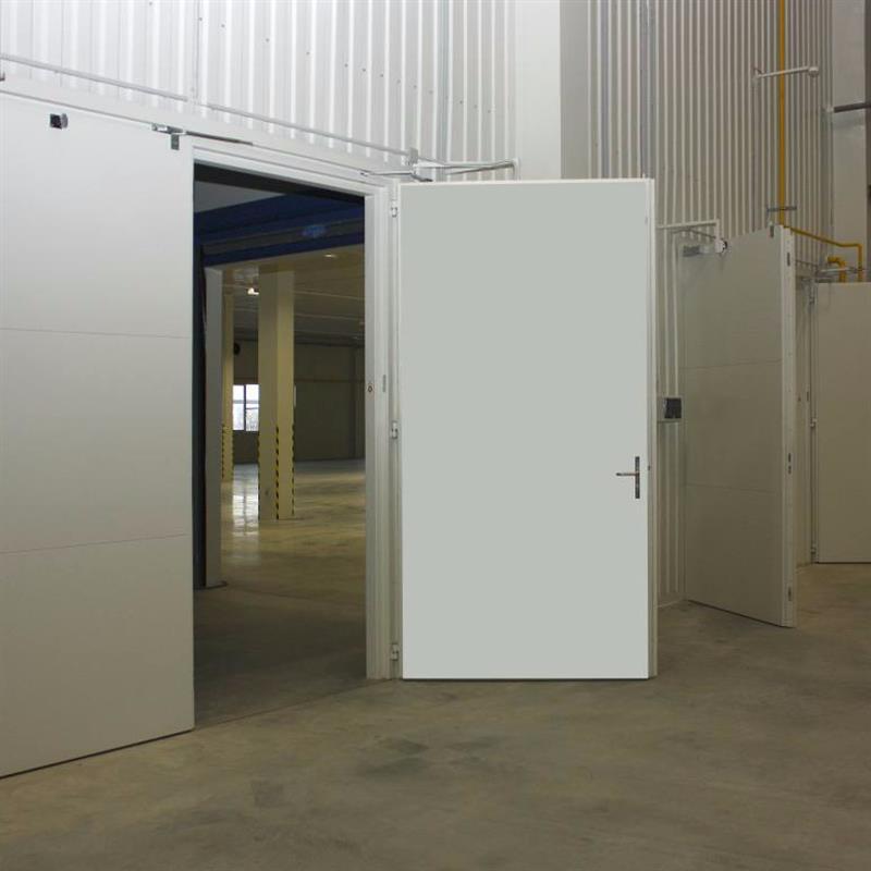Protipožární vrata s možností otevření