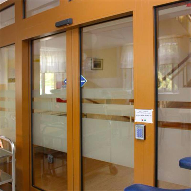 posuvné automatické dveře pro domov důchodců 5