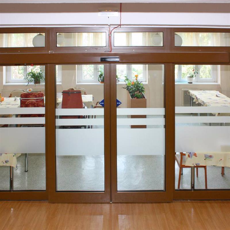 posuvné automatické dveře pro domov důchodců 6