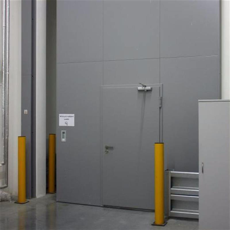 reference na protipožární posuvné vrata pro logistické centrum 4