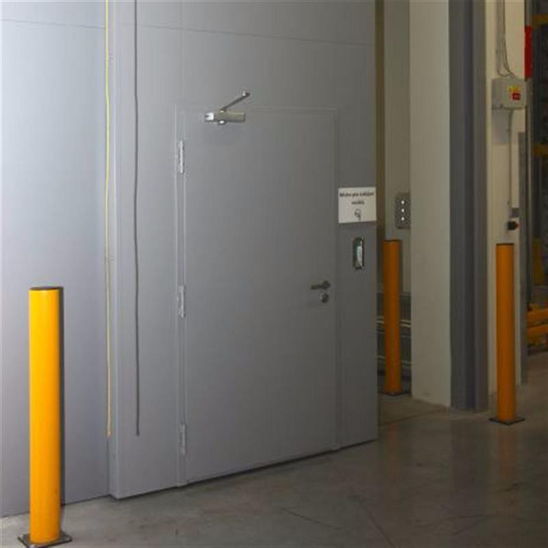 reference na protipožární posuvné vrata pro logistické centrum 6