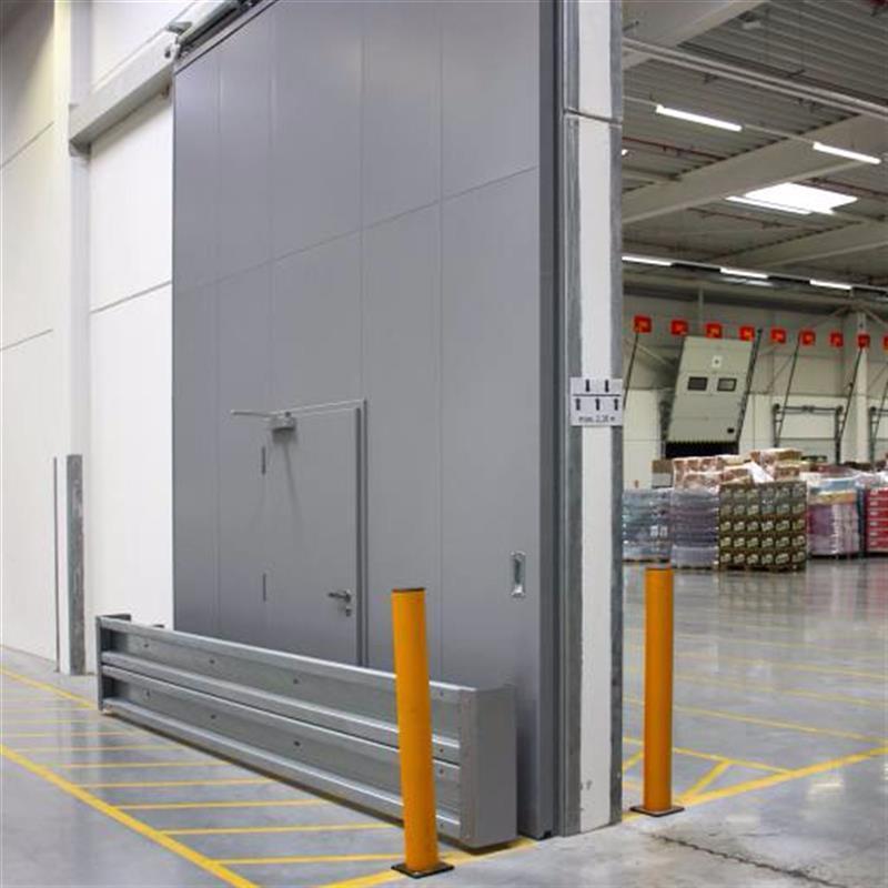reference na protipožární posuvné vrata pro logistické centrum