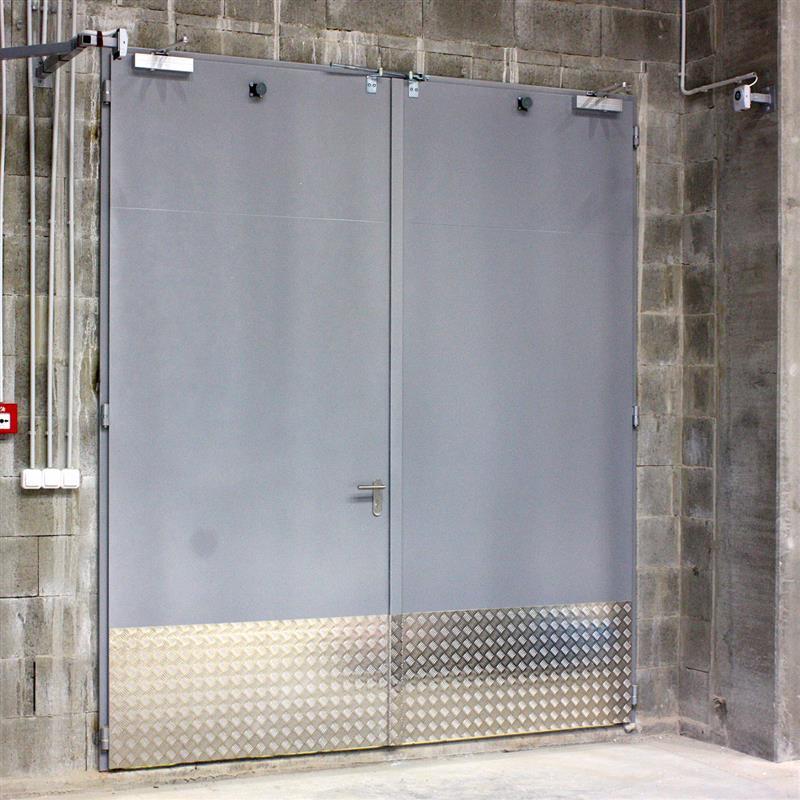 protipožiarne otváravé brány z ocele od Spedosu