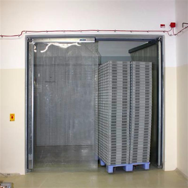 Protiprůvanová pvc vrata