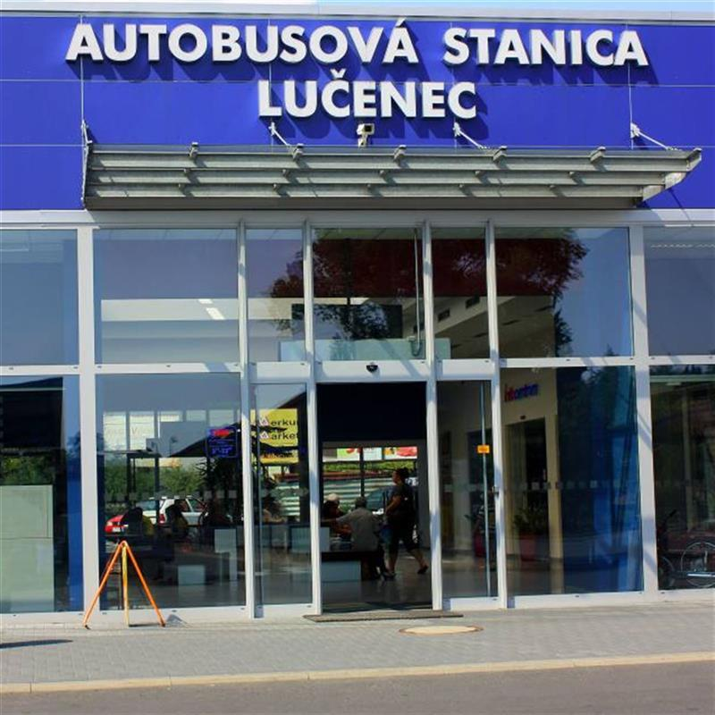 reference klienta autobusové stanice Lučenec