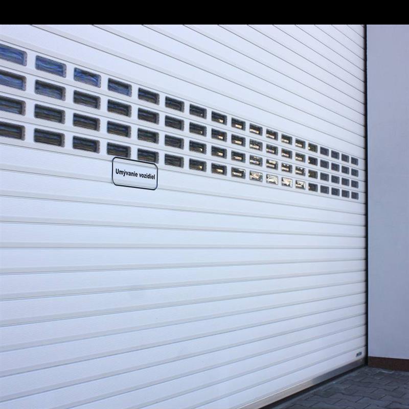 rolovací garážová vrata Spedos