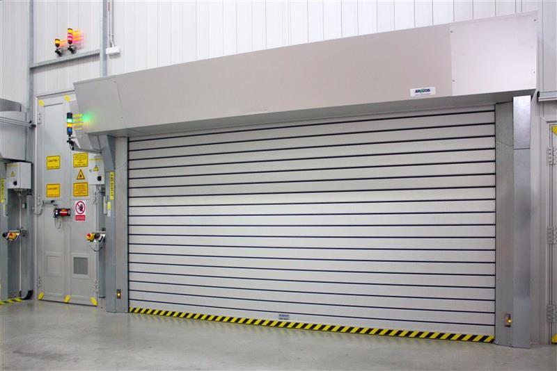 rolovací rychloběžná vrata pro Škoda Auto
