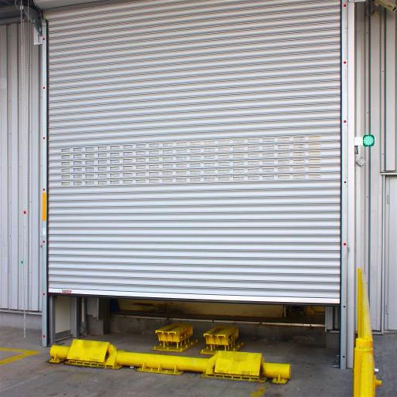 Rolovací dveře s ochranou proti poškození