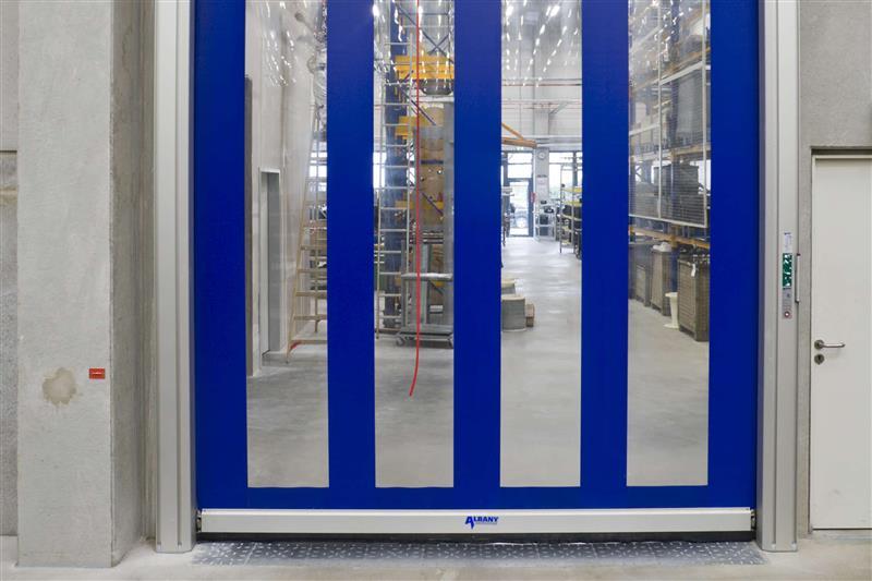 rýchlonavíjacie brány modré