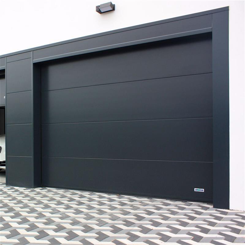 Sekčné garážové brány Spedos