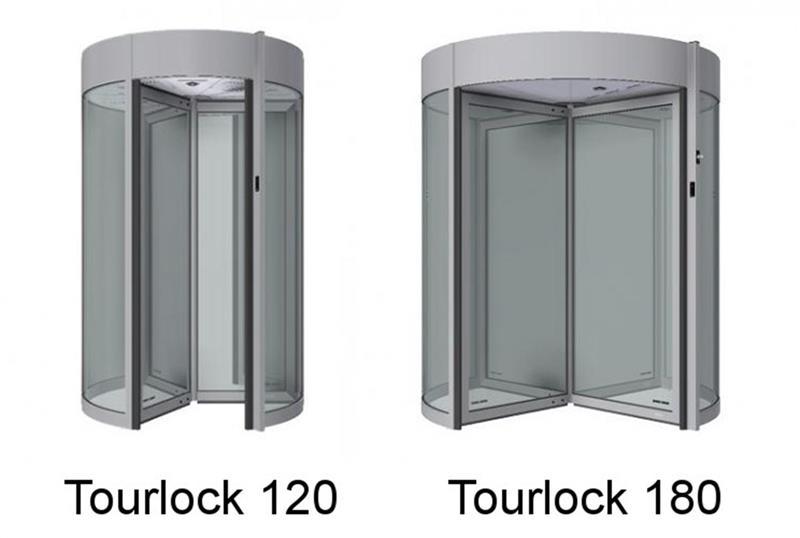 Turniketové dvere Tourlock konštrukcie