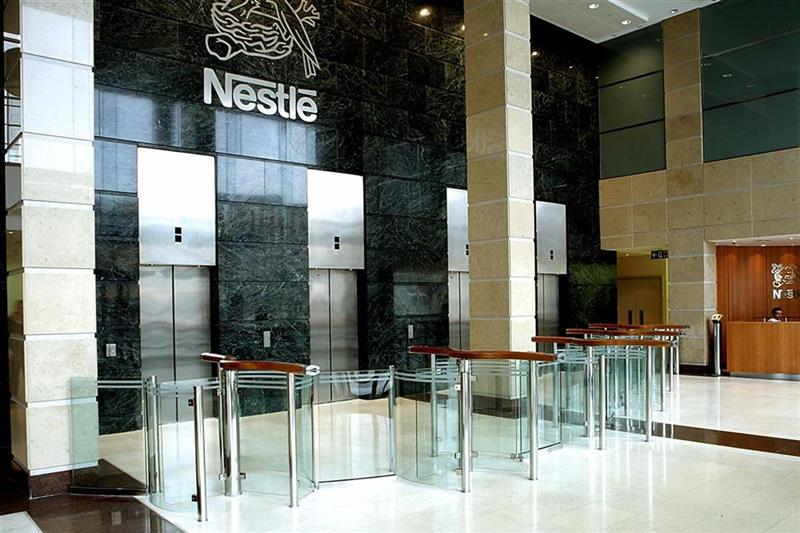 Turniketový systém pre Nestlé