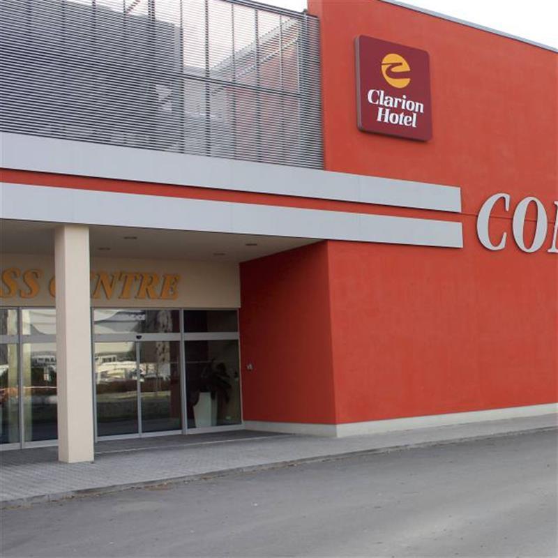 vstupní portál pro kongresové centrum Ostrava 5