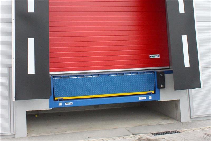 vyrovnávací mostík VMSL pre kamióny